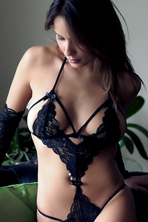 Issey in 'Sexy Lace' via The Life Erotic