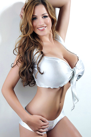Jordan Carver in 'Silver Silk' via Pinup Files
