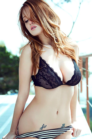 Leanna Decker in 'Natural Tits' via Playboy