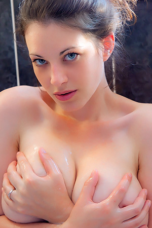 Bex in 'Bubble Bath' via Cosmid