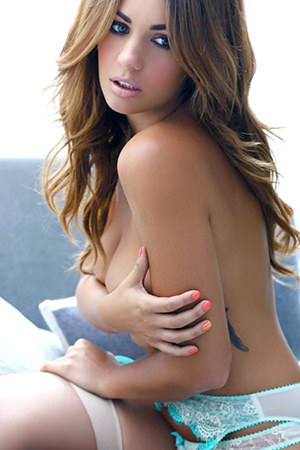 Holly Peers in 'Incredible Body' via Nuts Magazine