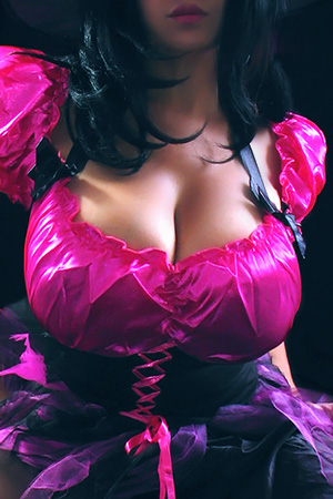 Maritza Mendez in 'Big Boob Halloween' via Mexican Lust