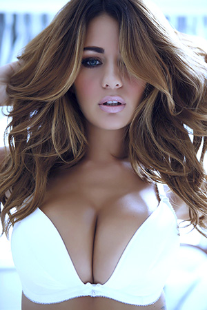 Holly Peers in 'Sexy Outtakes' via Nuts Magazine
