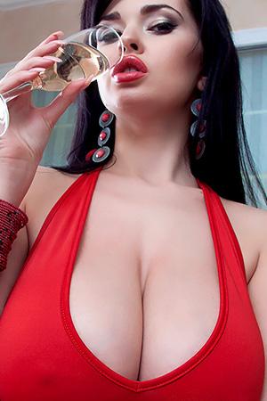 Sha Rizel in 'Red Dress' via