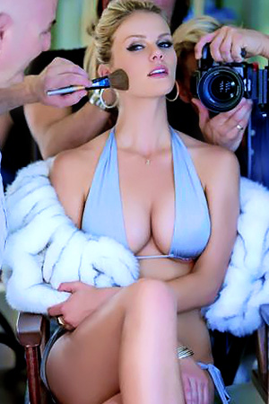 Brooklyn Decker in 'Busty Celeb' via Sports Illustrated