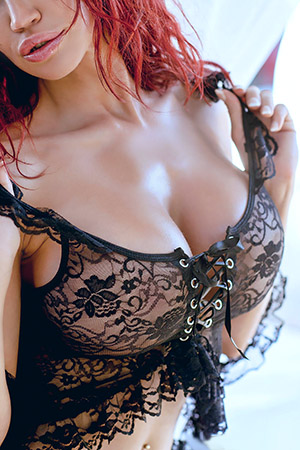 Bianca Beauchamp in 'Black Lace' via