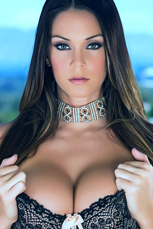 Alison Tyler in 'Lacy Bra' via Alison Tyler Official