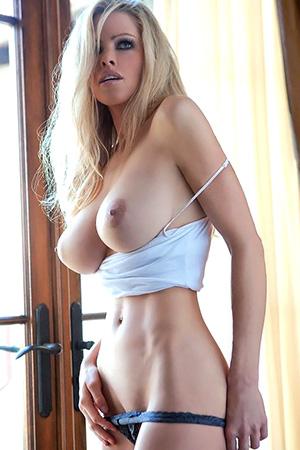 Jami Ferrell in 'Slim And Busty' via Playboy