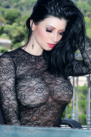 Lilly Roma in 'Slutty Lace Dress' via Studio66 TV