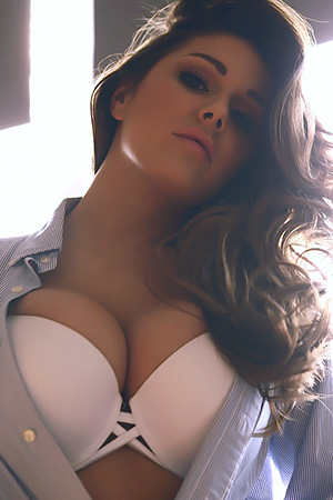 Lucy Pinder in 'Amazing Big Tits' via This Is Glamour