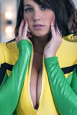 Phecda in 'Cosplay' via Suicide Girls