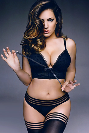 Kelly Brook in 'Miss Gorgeous' via Official Calendar 2015