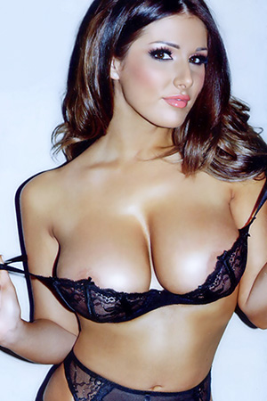 Lucy Pinder in 'Best Of Lucy' via Nuts Magazine