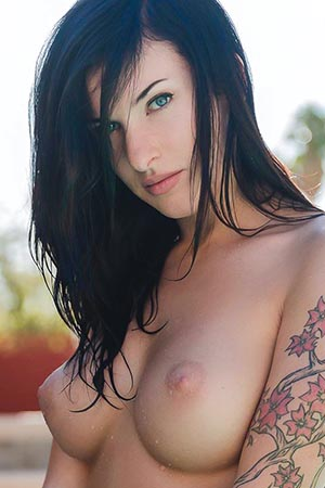 Ripley in 'Skinny Dipping' via Suicide Girls