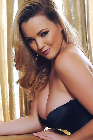 Jodie Gasson in 'Black Corset' via