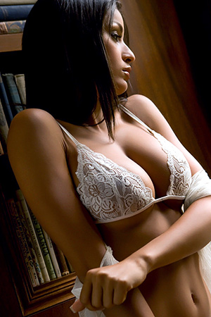 Jo Garcia in 'Sexy Lights' via Playboy