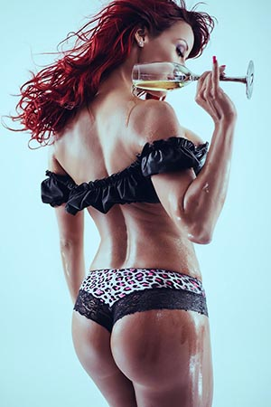 Bianca Beauchamp in 'Gleaming Curves' via