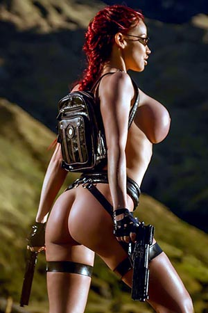 Bianca Beauchamp in 'Escapades' via