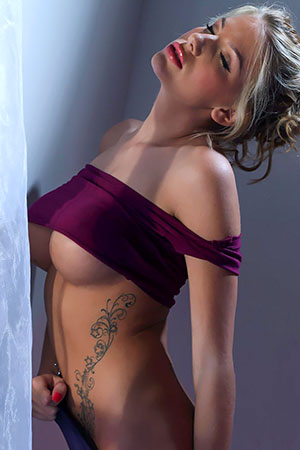Ashley in 'Tight Top' via SpinChix