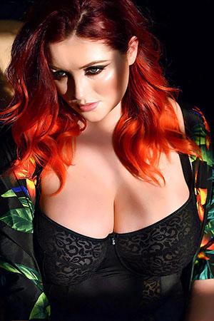Lucy V in 'Sexy Shadows' via Lucy Vixen