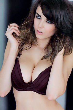 Danielle Sharp in 'Stunning Babe' via Mr Skin