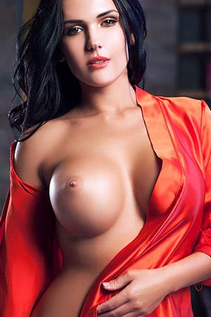 Cathy in 'Passionate Silk Robe' via Eurotica