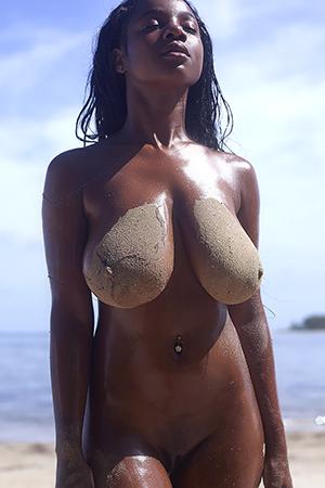 Kiky in 'Hot Haitian' via Met-Art