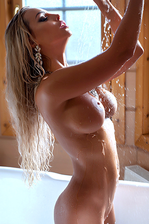 Maria in 'Steamy Shower' via Photodromm