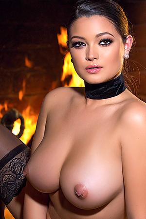 Chelsie Aryn in 'Warming Up' via Playboy Plus
