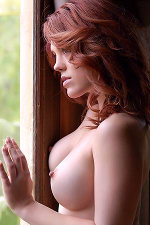 Molly Stewart in 'Fiery Curves' via Playboy Plus